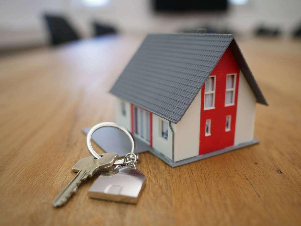 Casa con llaves